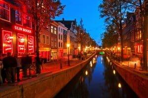 Amsterdam barrio rojo 1