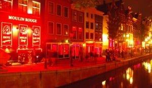 Amsterdam barrio rojo 3