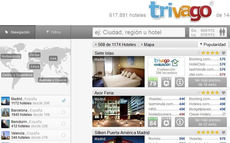 Cómo Encontrar la Mejor Oferta de Hotel y Vuelos con Trivago